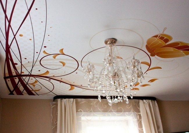 Поиск картинки для навесного потолка