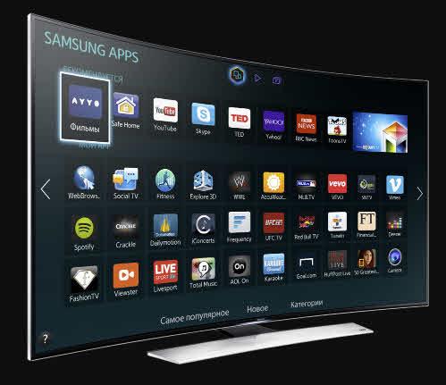 Приложения в Смарт ТВ