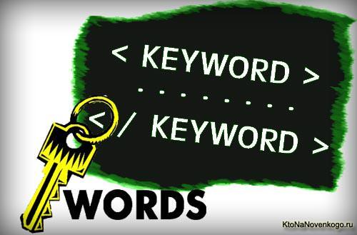 ключевые слова