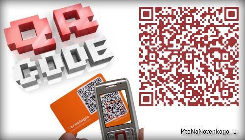 Коллаж на тему QR code
