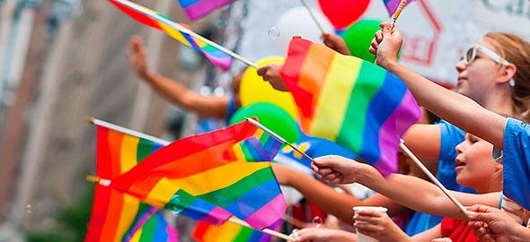 Флаги ЛГБТ движения