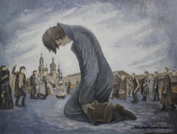 Тема раскаяния в Преступлении и наказании