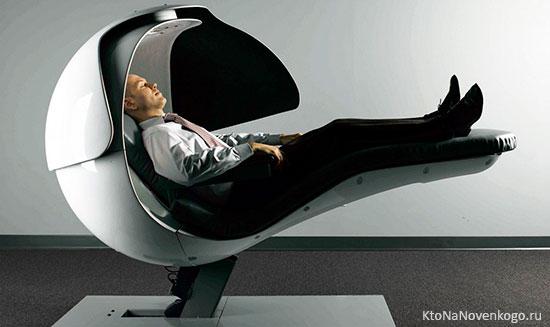 Суперэргономичная капсула для сна