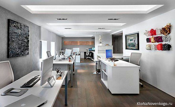 Применение эргономики в офисном пространстве