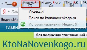 Число страниц в индекс Яндекса