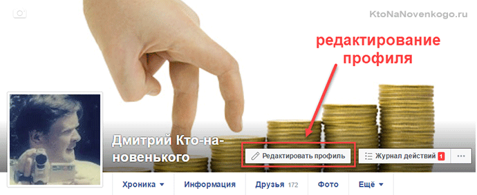 Редактор профиля