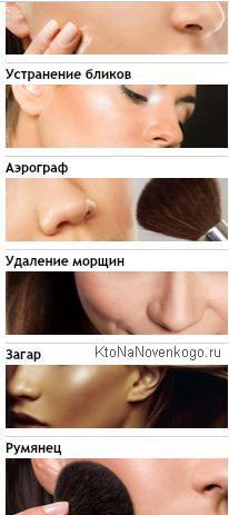 ретушировать лицо