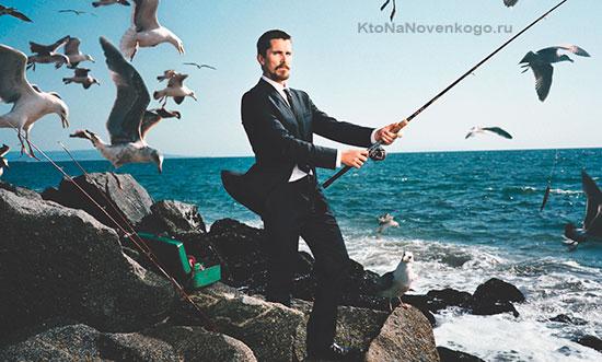 Рыбак и чайки