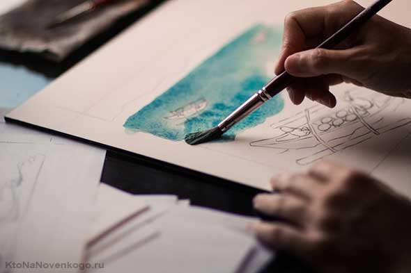 Рисование как терапия при депрессии