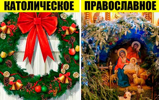 Православное или католическое