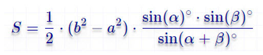 Формула по основанию