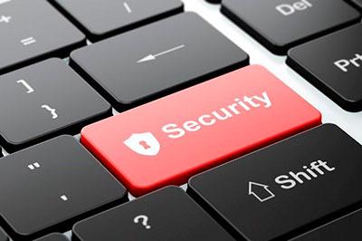 Кнопка Безопасность на клавиатуре