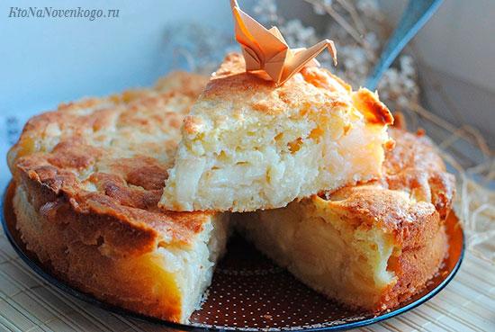 Слои пирога