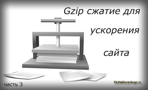 Коллаж на тему сжатия файлов сайта