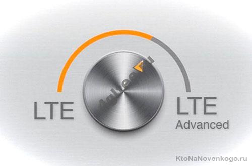 Cкорость LTE