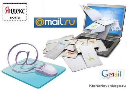Создать почту - как и где