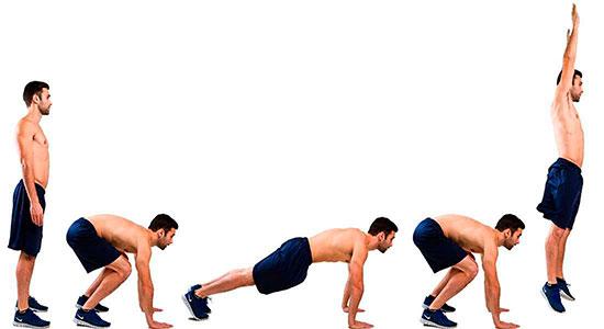 Упражнениt Армейская Пружина - последовательность выполнения