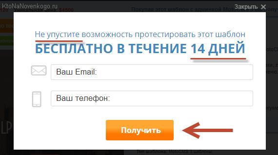 Бесплатно тестировать шаблон MotoCMS 3 от TemplateMonster