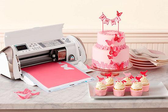 Торт и пищевой плоттер