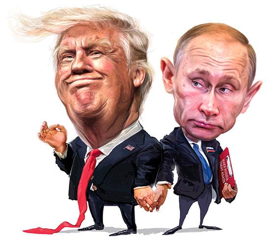 Президенты США и России