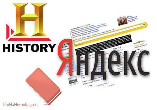 Удалить историю Яндекса