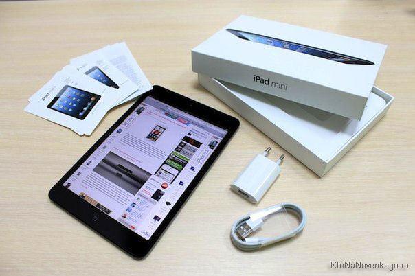 Ipad mini комплектация