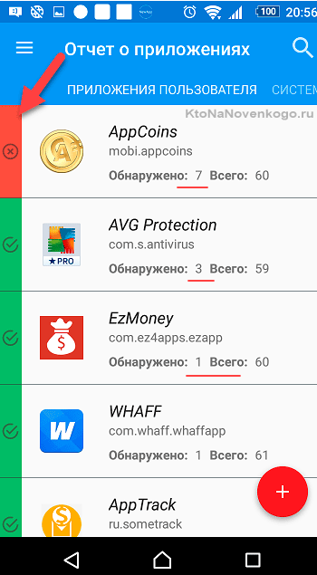 Проверка приложений на Андроиде на вирусы