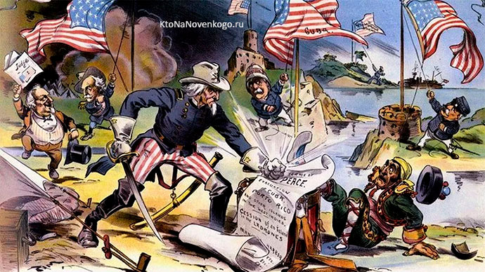 Война англичан с американской колонией