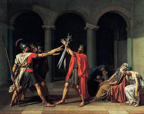 Иллюстрация жизни в период поздней античности