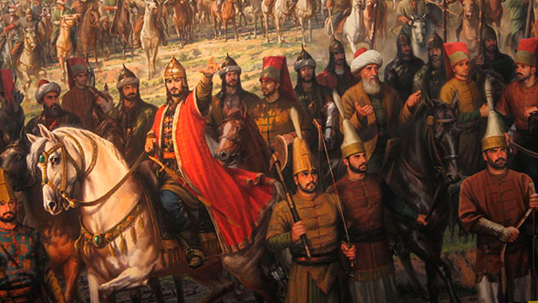 Войско Османской империи содержало ренегатов