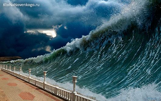 Цунами: что это такое, механизм формирования, самые разрушительные цунами