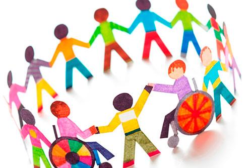 Хоровод включающий детей инвалидов