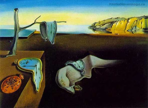 Часы - метафора в живописи