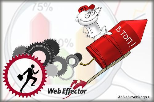 Поведенческие факторы в WebEffector, создание, продвижение и заработок на сайте
