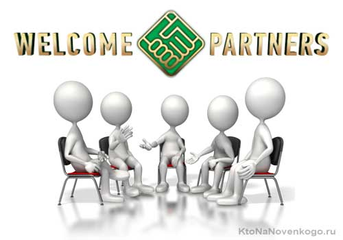 Welcome partners