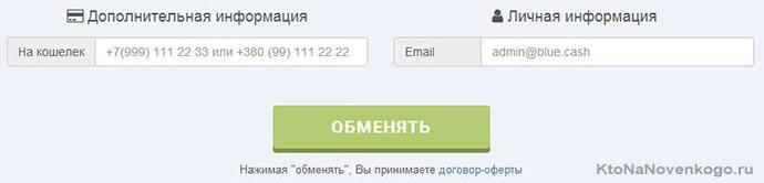 запрашивается только электронный адрес