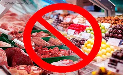Запрет на импорт