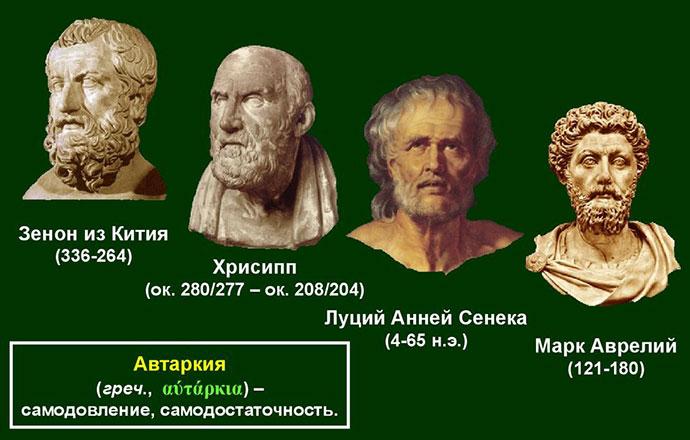 Периоды развития стоицизма и его лидеры