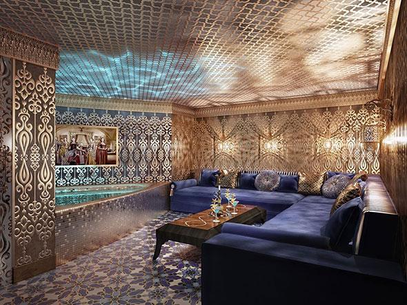 Комната отдыха в хамаме