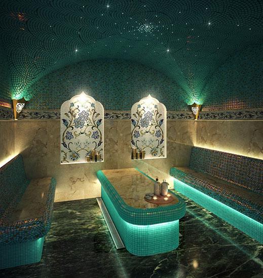 Помещение турецкой бани