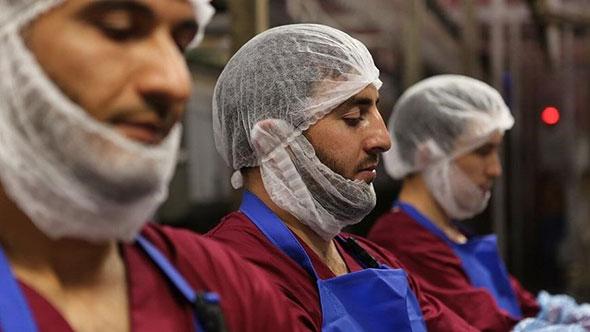 Работники мясного цеха